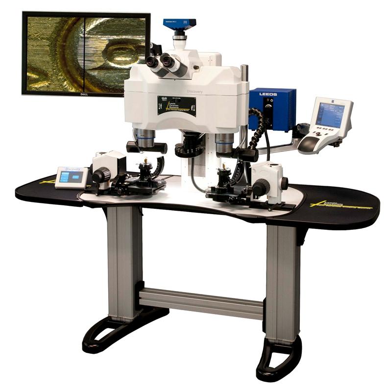Leeds Discovery 電動連續變倍比對顯微鏡